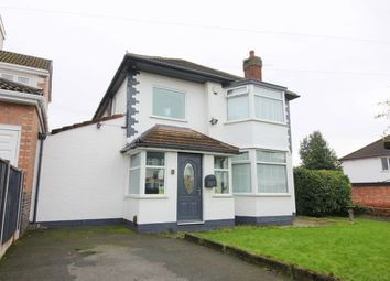 Thumbnail 4 bed detached house for sale in Holmefield Road, Grassendale, Liverpool