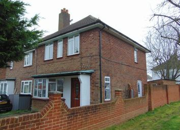 Thumbnail 3 bed semi-detached house to rent in Waddington Avenue, Old Coulsdon, Coulsdon