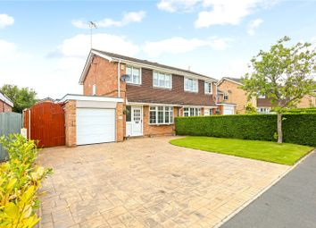 Thumbnail 3 bed semi-detached house for sale in Bramley Close, Wilmslow, Cheshire