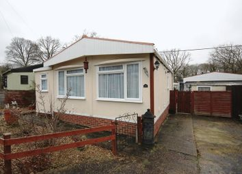 Thumbnail 1 bed mobile/park home for sale in Drapers Copse, Claypits Lane, Dibden, Southampton