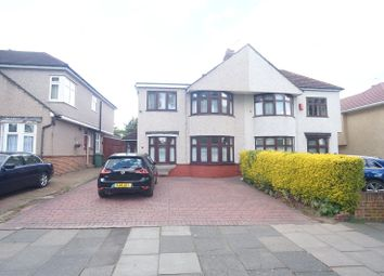 Thumbnail 4 bed semi-detached house to rent in Marlborough Park Avenue, Sidcup