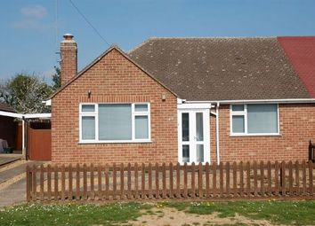 Thumbnail 2 bedroom semi-detached bungalow for sale in Fuller Road, Moulton Village, Northampton
