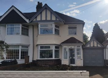 Thumbnail 3 bed semi-detached house to rent in Warwick Road, Acocks Green, Birmingham