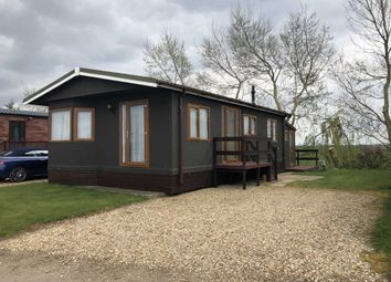 Thumbnail 2 bedroom lodge for sale in Floods Ferry, Knights End, March