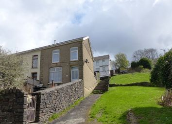 Thumbnail 3 bedroom end terrace house for sale in Brynogwy Terrace, Nantymoel, Bridgend, Bridgend County.
