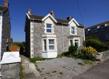 Thumbnail 3 bed semi-detached house for sale in Kewstoke Road Lower, Worle, Weston-Super-Mare