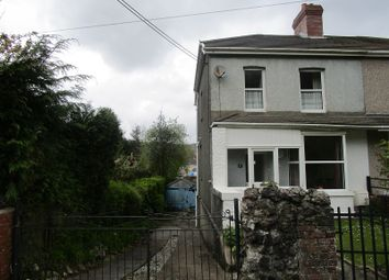 Thumbnail 2 bed semi-detached house for sale in Glanyrafon Road, Ystalyfera, Swansea.