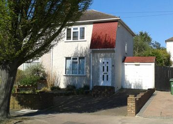 Thumbnail 3 bed semi-detached house for sale in Walden Avenue, Chislehurst, Kent