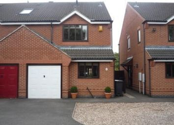 Thumbnail 3 bed detached house to rent in Loughborough Road, Hathern, Leicestershire