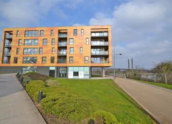 Thumbnail 1 bed flat for sale in Stunning Riverside Apartment, Usk Way, Newport