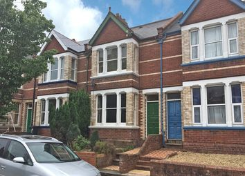Thumbnail 3 bed terraced house to rent in Clinton Avenue, Exeter