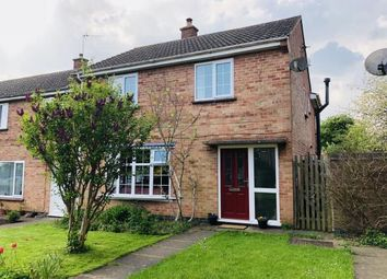 Thumbnail 4 bed end terrace house for sale in Field Close, Houghton-On-The-Hill, Leicester