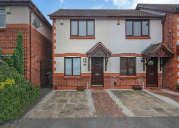 Thumbnail 2 bed town house for sale in Winston Close, Stapleford, Nottingham
