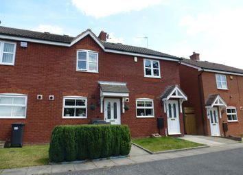 Thumbnail 2 bedroom terraced house to rent in Ludworth Avenue, Marston Green, Birmingham