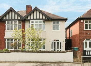 Thumbnail 3 bed semi-detached house for sale in Sherwood Rise, Nottingham