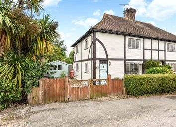 Thumbnail 3 bed semi-detached house for sale in The Street, Bury, Pulborough, West Sussex