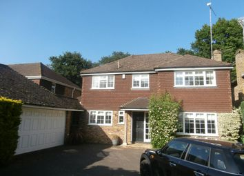 Thumbnail 4 bed detached house to rent in Bosman Drive, Windlesham