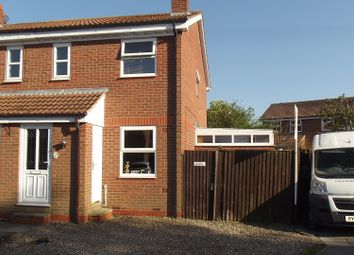 Thumbnail Semi-detached house for sale in Oak Road, North Duffield, Selby