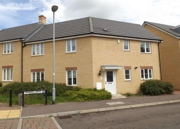 Thumbnail 3 bed property to rent in Maskell Drive, Bedford