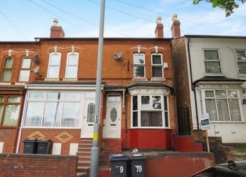 Thumbnail 3 bed terraced house for sale in Mansel Road, Small Heath, Birmingham