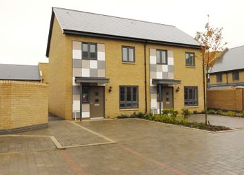 Thumbnail 2 bedroom semi-detached house to rent in Ellson Close, Newtown Works, Ashford