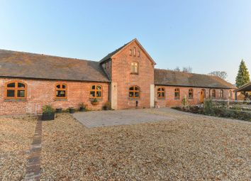 Thumbnail 4 bed barn conversion for sale in The Avenue, Peplow, Market Drayton