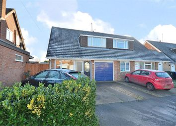 Thumbnail 3 bed semi-detached house for sale in Wallwin Close, Roade, Northampton