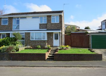 Thumbnail 3 bed semi-detached house for sale in Woodside Road, North Baddesley, Southampton