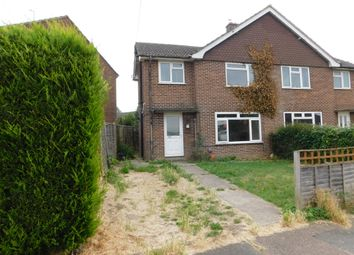 Thumbnail 2 bed semi-detached house for sale in Millwey Avenue, Axminster