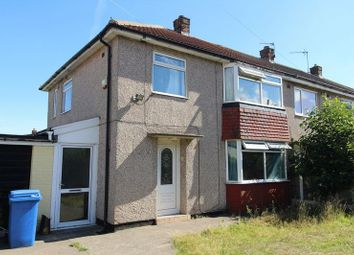 Thumbnail 3 bed end terrace house for sale in Stone Crescent, Mansfield