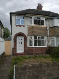 Thumbnail 3 bed semi-detached house to rent in Sandringham Road, Perry Barr, Birmingham