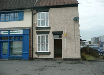 Thumbnail 2 bed end terrace house to rent in High Street, Measham, Swadlincote