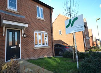 Thumbnail 3 bed semi-detached house to rent in Lisa Head Avenue, Didcot, Oxfordshire