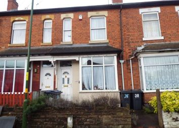 Thumbnail 2 bed terraced house for sale in Wharf Road, Tyseley, Birmingham, West Midlands