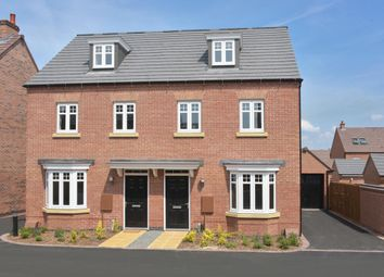 "Thumbnail 3 bed end terrace house for sale in ""Kennett"" at Welbeck Avenue, Burbage, Hinckley"