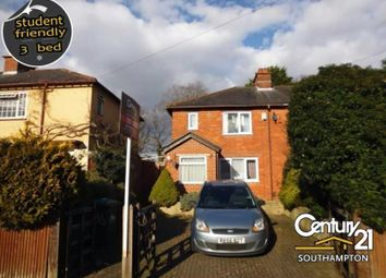 Thumbnail 3 bedroom property to rent in Mayfield Road, Southampton