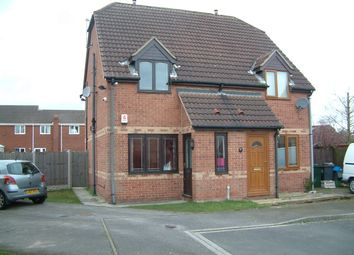 Thumbnail 2 bedroom semi-detached house to rent in Dean Close, Rossington, Doncaster