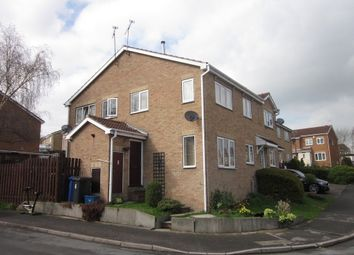 Thumbnail 2 bed end terrace house to rent in Dowland Gardens, High Green, Sheffield