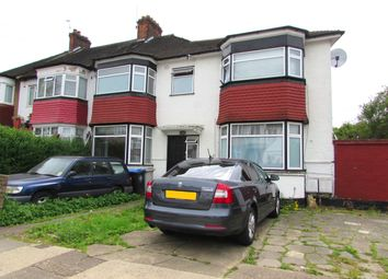 Thumbnail 2 bed flat to rent in Glendale Gardens, Wembley. Middlesex