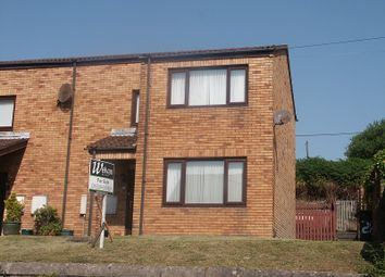 Thumbnail 2 bed end terrace house for sale in Burrows Road, Skewen, Neath .