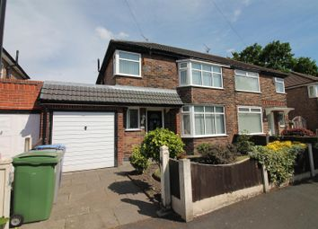 Thumbnail 3 bed semi-detached house for sale in Firwood Avenue, Urmston, Manchester