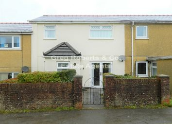 Thumbnail 3 bed terraced house for sale in Yscuborwen, Tredegar, Blaenau Gwent.