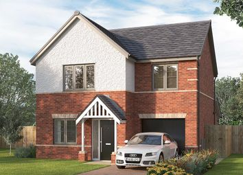 "Thumbnail 3 bed detached house for sale in ""The Melton"" at Longwall Road, Pontefract"