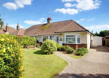 Thumbnail 2 bed semi-detached bungalow for sale in Burnham Road, Worthing, West Sussex