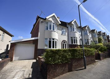 Thumbnail 3 bedroom end terrace house for sale in Sylvia Avenue, Lower Knowle, Bristol