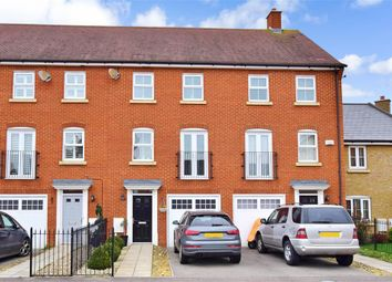 Thumbnail 3 bed town house for sale in Carnation Crescent, Sittingbourne, Kent