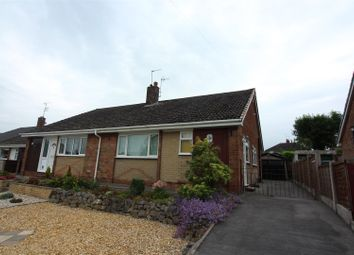 Thumbnail 3 bed semi-detached bungalow for sale in East Bank Ride, Forsbrook, Stoke-On-Trent