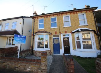Thumbnail 2 bed semi-detached house to rent in Salisbury Avenue, Stanford-Le-Hope