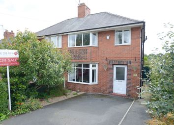 Thumbnail 3 bed semi-detached house for sale in Highbury Road, Chesterfield
