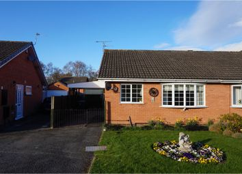 Thumbnail 2 bed semi-detached bungalow for sale in Melbourne Rise, Shrewsbury